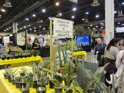 Houston Cactus And Succulent Society - Home and garden show houston